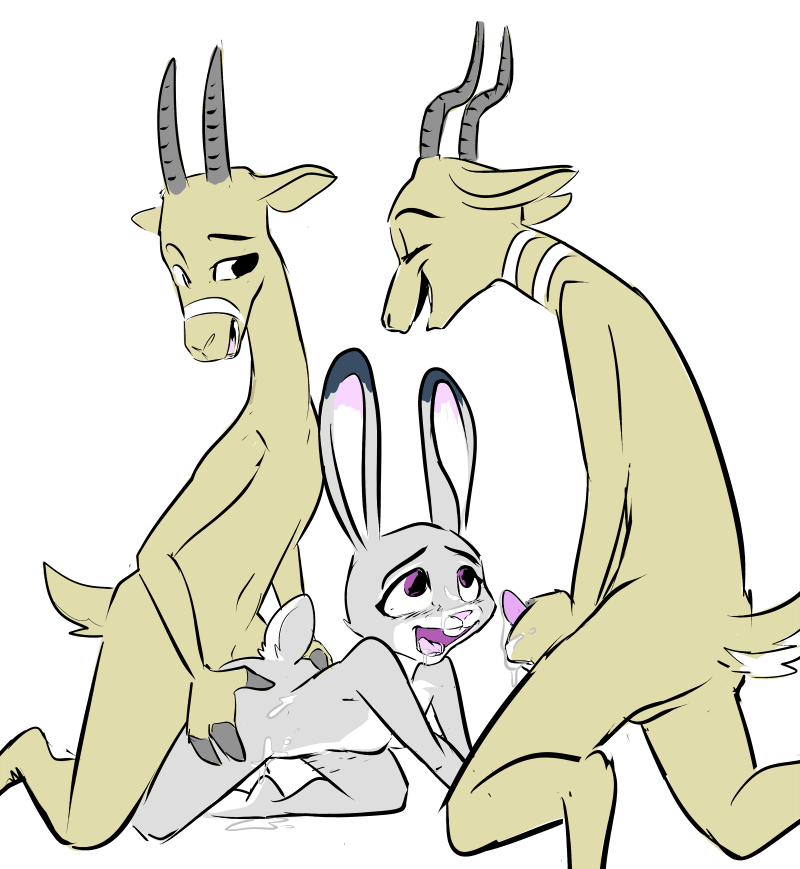 oryx-antlerson bucky and pronk My little pony friendship is magic nude
