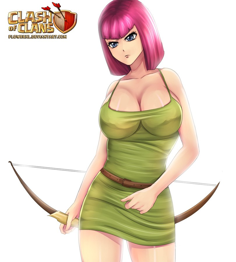 of nude witch clans clash Wreck it ralph shank hentai