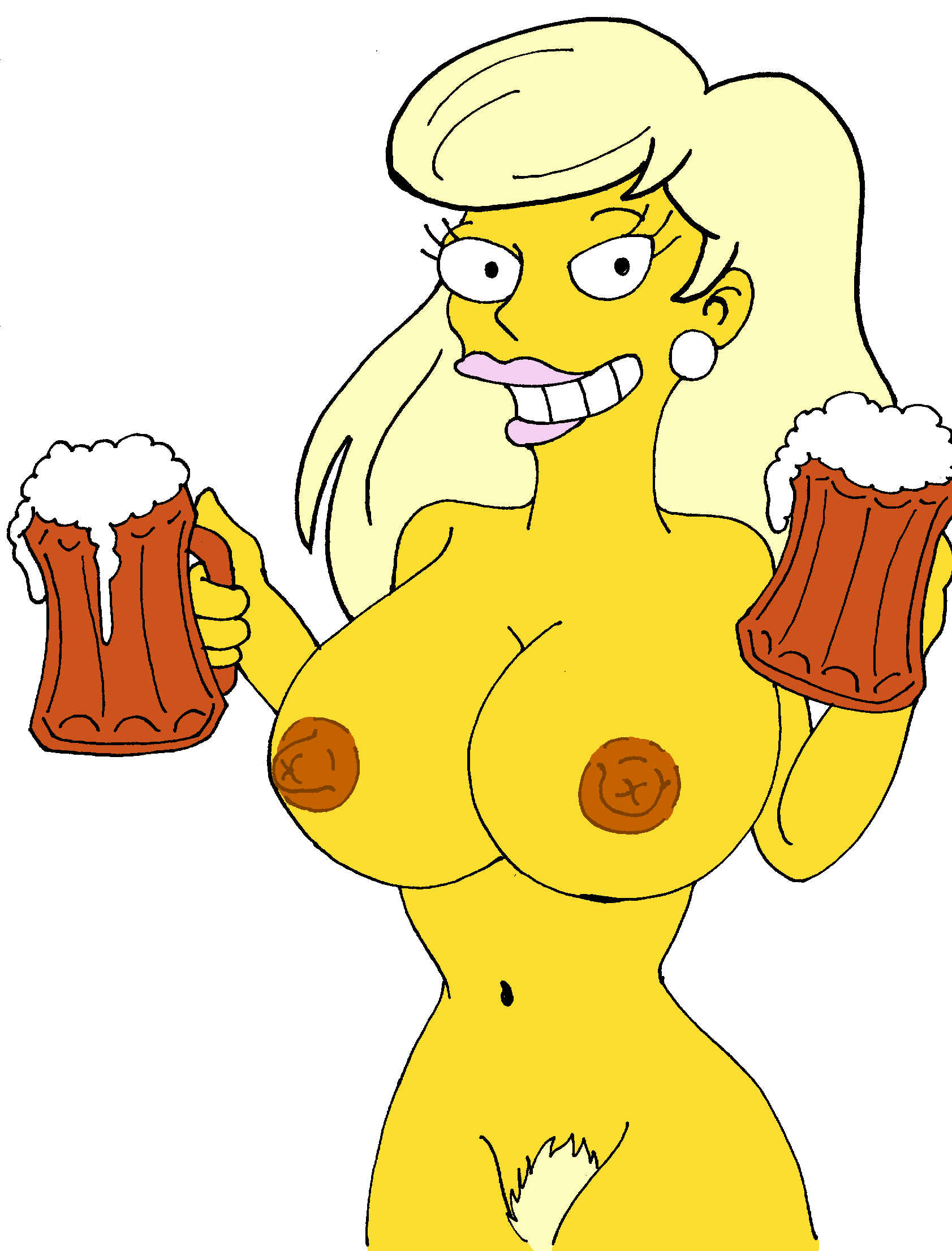 the simpsons naked from marge Scooby doo and the hex sisters