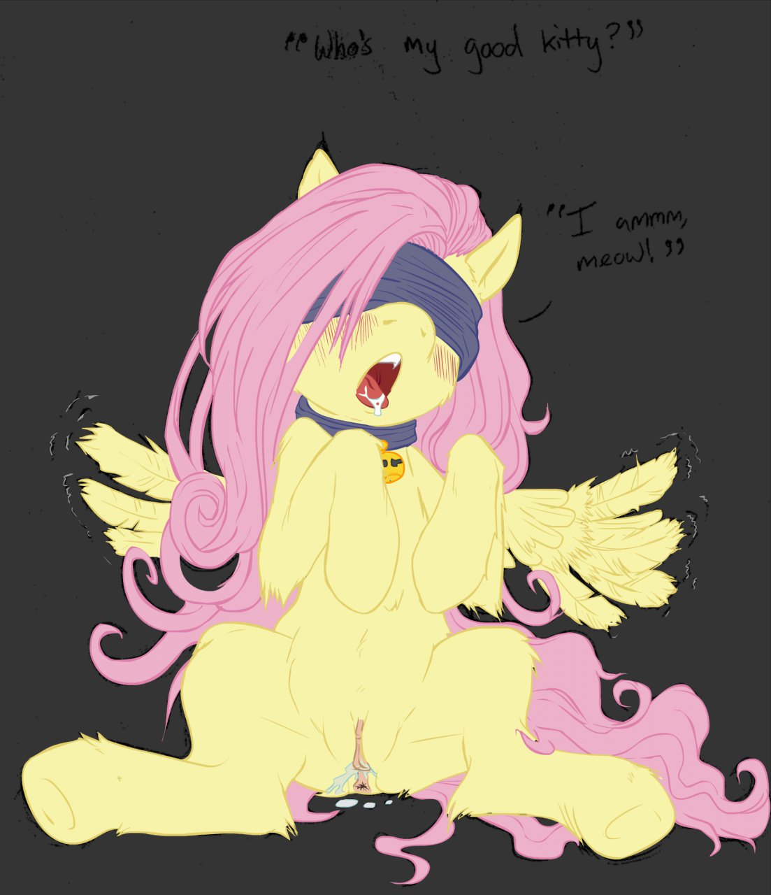 little my fluttershy pony Boris the wolf bendy and the ink machine