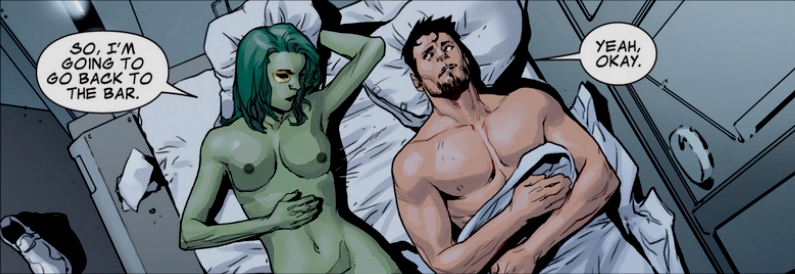 naked the guardians gamora galaxy of Spider-man