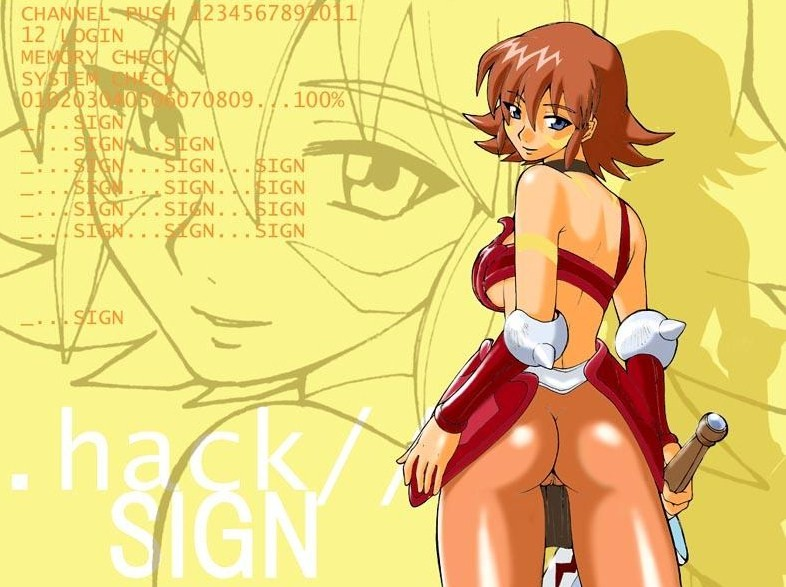 .hack//sign macha Five nights at freddy's chica
