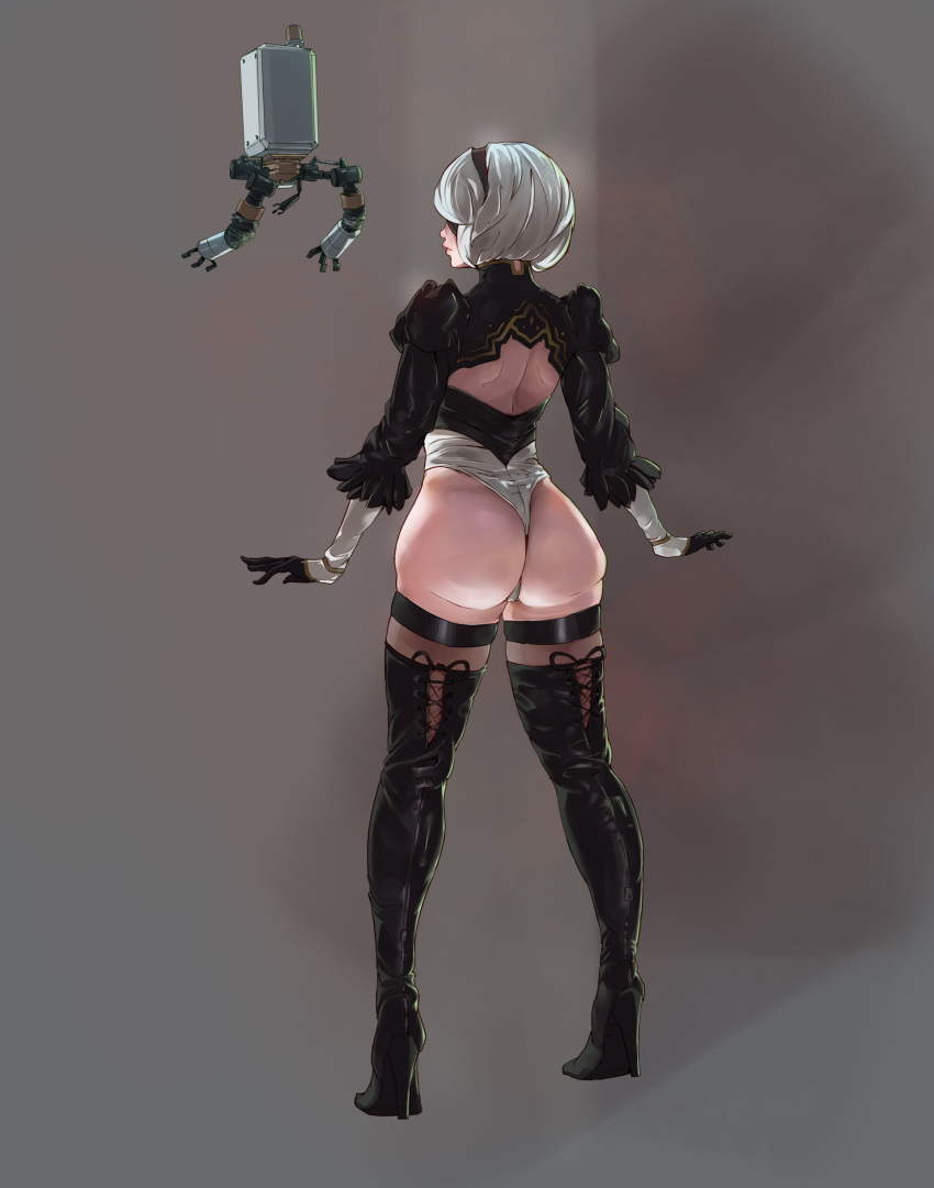 blade automata yorha issue nier Little red riding hood vore