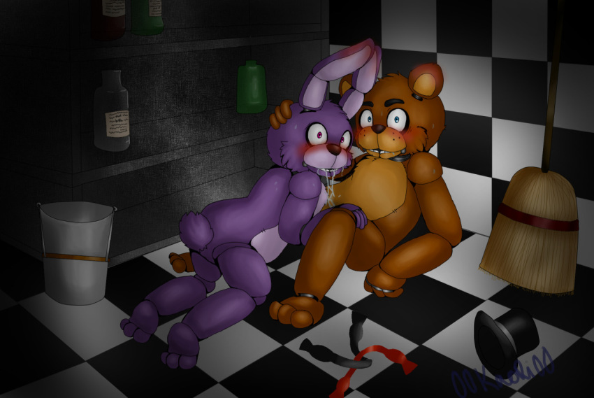 five of nights at freddy's pictures bonnie Red haired half elf male