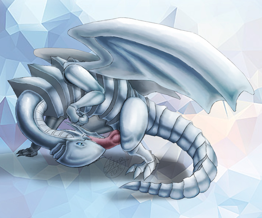 white eyes hentai dragon blue How not to summon a demon lord japanese name