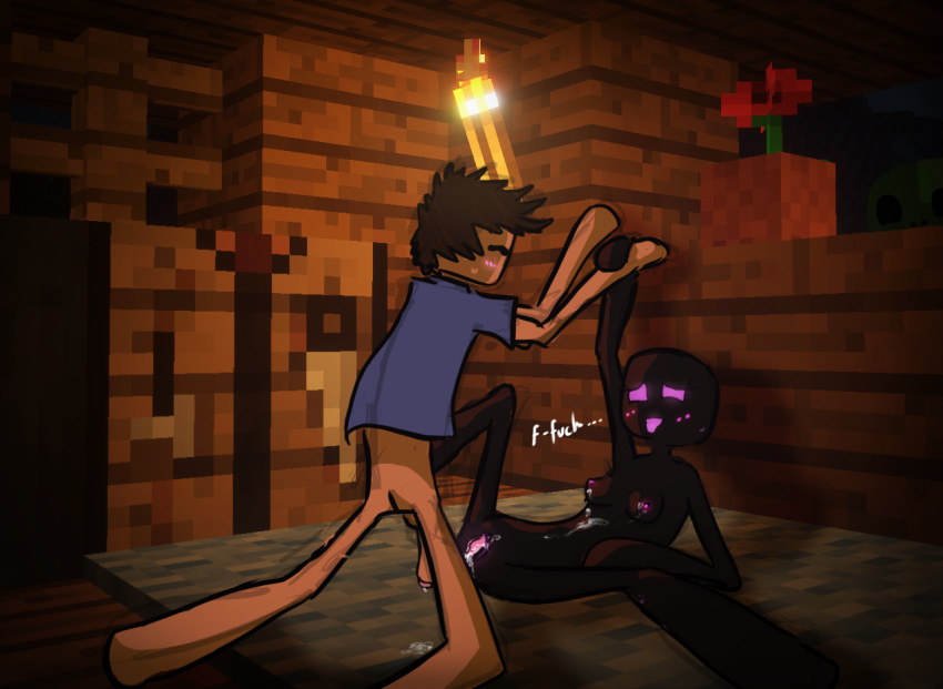 phantoms in minecraft what are Courage the cowardly dog kitty and bunny